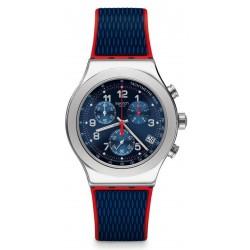 Men's Swatch Watch Irony Chrono Secret Operation YVS452 Chronograph
