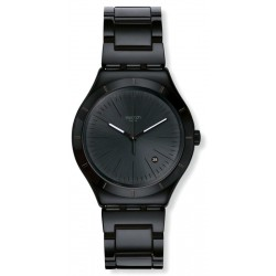 Buy Men's Swatch Watch Irony Big Classic Noir Intense YWB404G