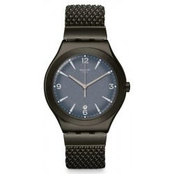 Buy Mens Swatch Watch Irony Big Classic Mesh OLight YWM403M