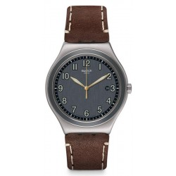 Buy Men's Swatch Watch Irony Big Classic Brandy YWS445