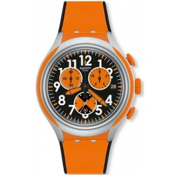 Men's Swatch Watch Irony Xlite Feel Strong YYS4003 Chronograph