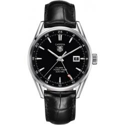 Buy Tag Heuer Carrera Men's Watch WAR2010.FC6266 Twin Time Automatic