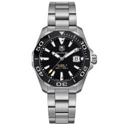 Buy Tag Heuer Aquaracer Men's Watch WAY211A.BA0928 Automatic