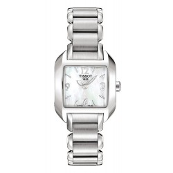 Women's Tissot Watch T-Lady T-Wave T02128582 Mother of Pearl Quartz