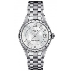 Women's Tissot Watch Powermatic 80 T0722071111600 Diamonds Mother of Pearl