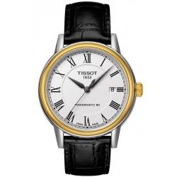 Men's Tissot Watch T-Classic Carson Powermatic 80 T0854072601300