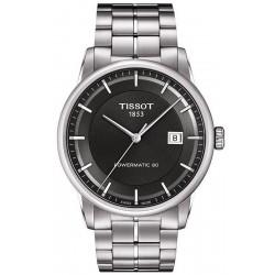 Men's Tissot Watch T-Classic Luxury Powermatic 80 T0864071106100