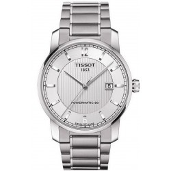Men's Tissot Watch T-Classic Titanium Powermatic 80 T0874074403700