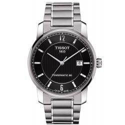 Men's Tissot Watch T-Classic Powermatic 80 Titanium T0874074405700