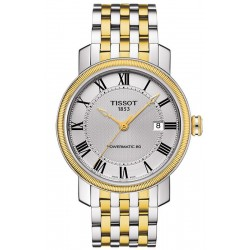 Buy Men's Tissot Watch Bridgeport Powermatic 80 T0974072203300
