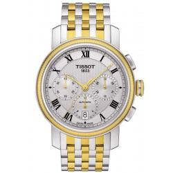 Men's Tissot Watch Bridgeport Automatic Chronograph Valjoux T0974272203300