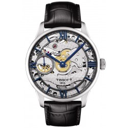 Buy Men's Tissot Watch Chemin des Tourelles Squelette Mechanical T0994051641800