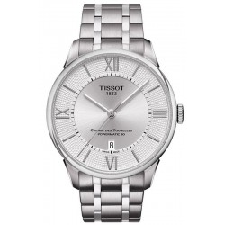 Buy Men's Tissot Watch Chemin Des Tourelles Powermatic 80 T0994071103800