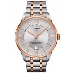 Men's Tissot Watch Chemin Des Tourelles Powermatic 80 Helvetic Pride T0994072203801