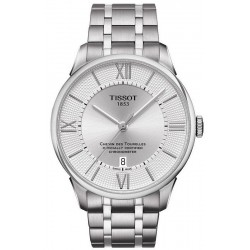 Buy Men's Tissot Watch Chemin des Tourelles Powermatic 80 COSC T0994081103800