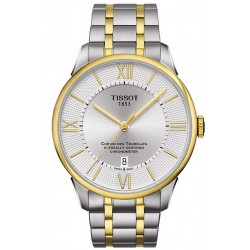 Men's Tissot Watch Chemin Des Tourelles Powermatic 80 COSC T0994082203800