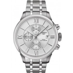 Men's Tissot Watch Chemin des Tourelles Automatic Chronograph T0994271103800