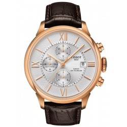 Men's Tissot Watch Chemin Des Tourelles Automatic Chronograph T0994273603800