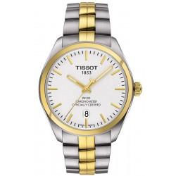 Men's Tissot Watch T-Classic PR 100 COSC Quartz T1014512203100